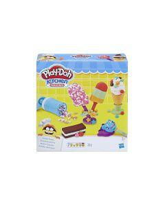 Play-Doh Knetspielzeug Kleiner Eissalon