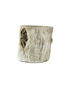 Villa Collection Blumentopf 20 x 22 cm Holzoptik