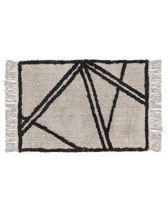 Villa Collection Teppich Natural Black 60 cm x 90 cm
