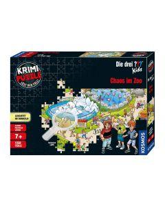 Kosmos Puzzle Die Drei ??? Kids - Chaos im Zoo