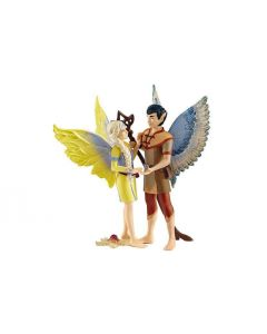 Schleich Spielzeugfigur bayala Prinzessin Sera und Elf Jaro