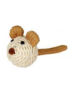Trixie Katzen-Spielzeug Maus aus Papiergarn