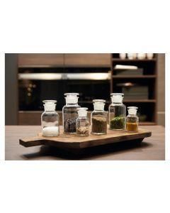 Leonardo Vorratsglas Cucina 6 Stück, 60 ml/125 ml/250 ml,