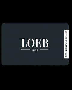Loeb Geschenkkarte 50.-