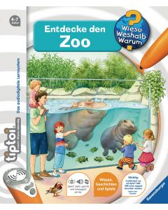 tiptoi Lernbuch Tiptoi WWW Entdecke den Zoo