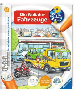tiptoi Lernbuch Die Welt der Fahrzeuge