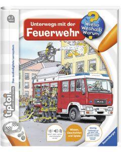 tiptoi Lernbuch Unterwegs mit der Feuerwehr